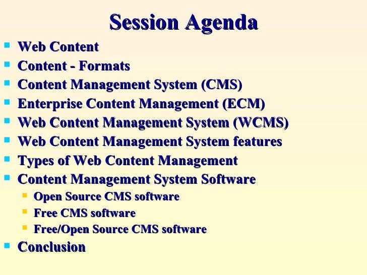 open source web content management system