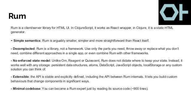ClojureScript - Making Front-End development Fun again - John Stevens…