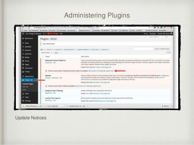PluginBasicsWCNYC2014 slideshare - 웹