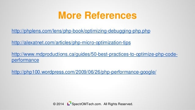 PHP Optimization