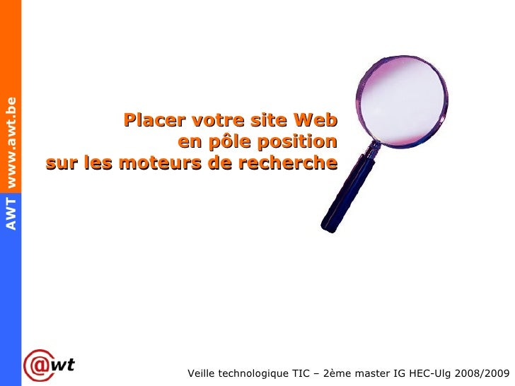 Placer votre site Web en pôle position sur les moteurs de recherche