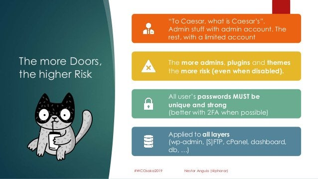 """The more Doors, the higher Risk 59 #WCOsaka2019 Nestor Angulo (@pharar) """"To Caesar, what is Caesar's"""". Admin stuff with ad..."""