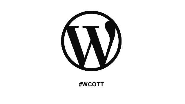 #WCOTT