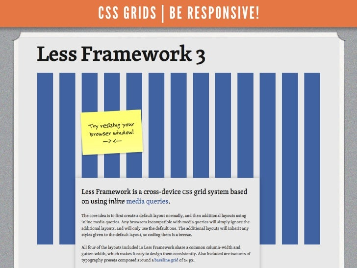 CSS GRIDS | BE RESPONSIVE!