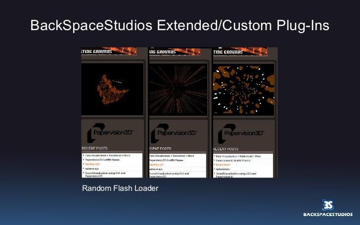 BackSpaceStudios Extended/Custom Plug-Ins Random Flash Loader