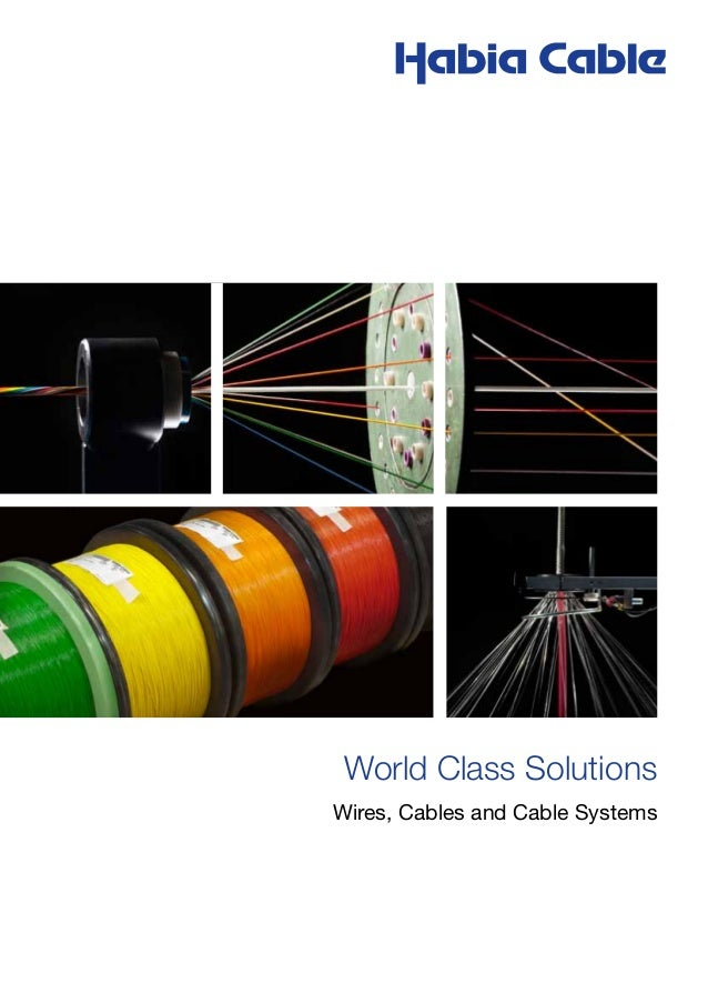 world class cable solutions from habia cable rh slideshare net Automotive Wiring Diagrams Automotive Wiring Diagram Symbols