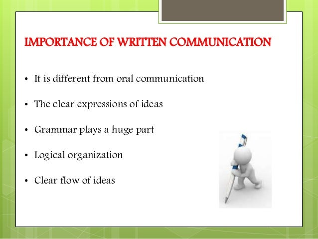 written communication analysis Free essay: written analysis and communication 1 assignment – 1 report on sands corporation submitted to prof mukul vasavada date : 15/09/2009 sands.