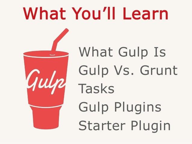 Automating WordPress Plugin Development with Gulp Slide 3