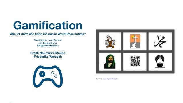 Gamification Was ist das? Wie kann ich das in WordPress nutzen? Gamification und Schule am Beispiel von Religionsunterricht ...