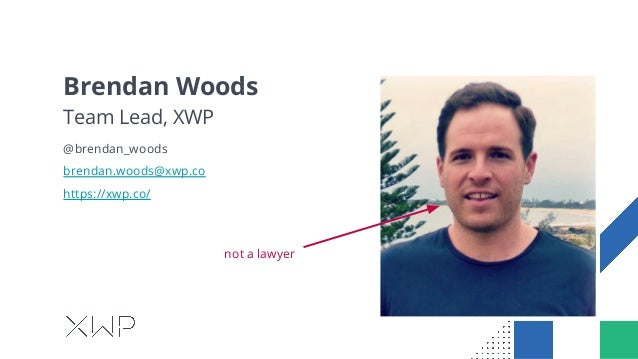 GDPR, WordPress and You. Slide 2