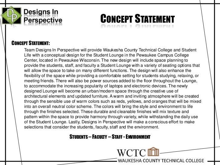 Design Statement Examples Koran Sticken Co