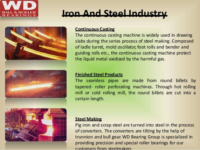 Iron And Steel Industry Continuous Casting The continuous casting machine is widely used in drawing slabs during the serie...
