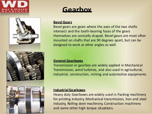 Gearbox Bevel Gears Bevel gears are gears where the axes of the two shafts intersect and the tooth-bearing faces of the ge...