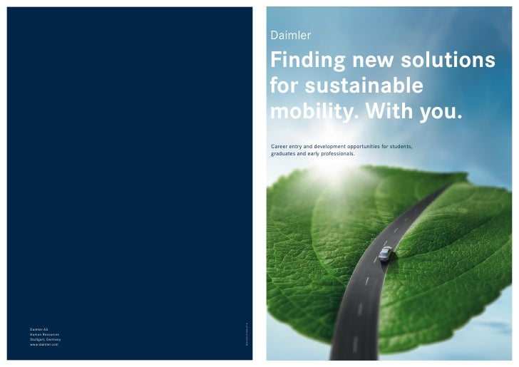 Daimler                                             Finding new solutions                                            for s...