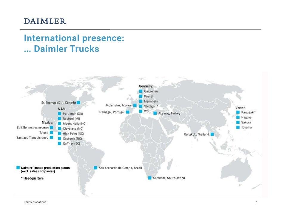 Daimler Locations