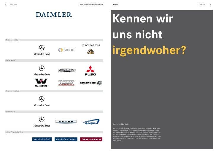 Daimler Konzern Marken