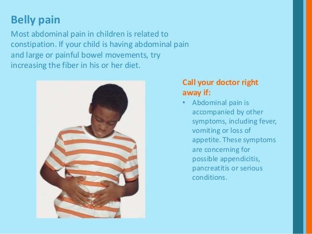 Kids Symptoms You Shouldn T Ignore
