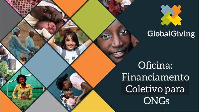 Oficina: Financiamento Coletivo para ONGs