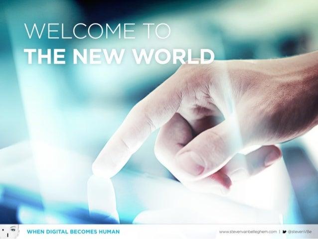 When Digital becomes Human Slide 3