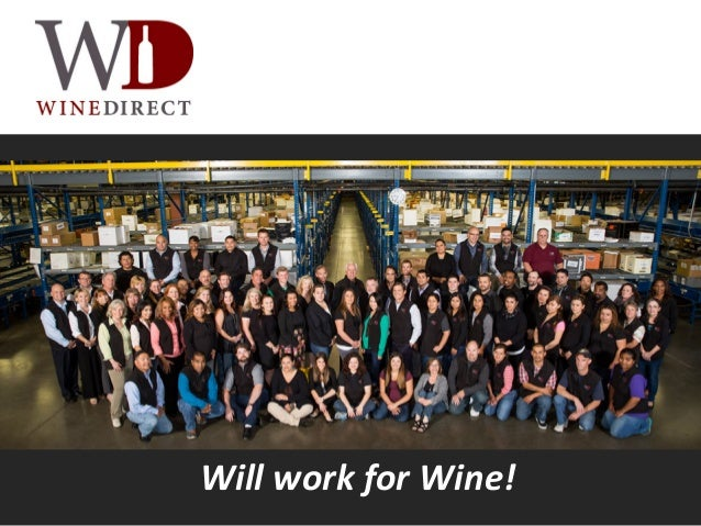 Will work for Wine!