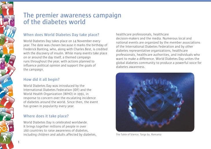 World Diabetes Day 2009: Understand Diabetes, Take control Slide 2