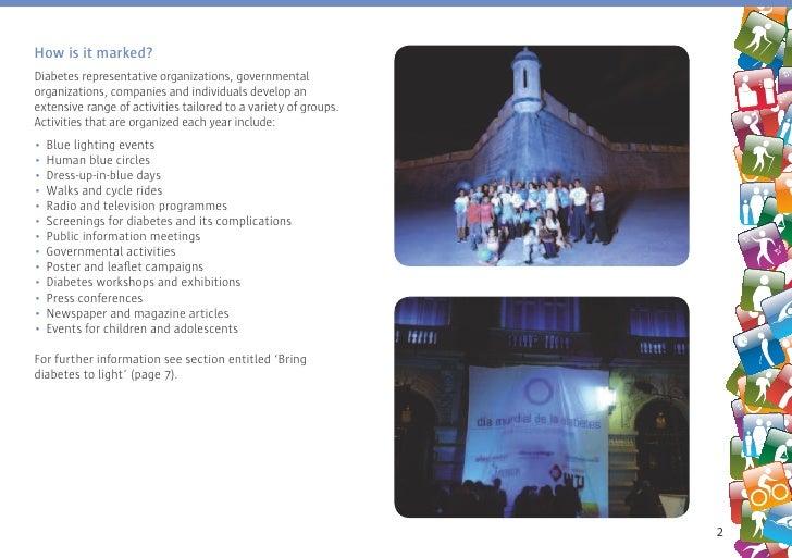World Diabetes Day 2009: Understand Diabetes, Take control Slide 3