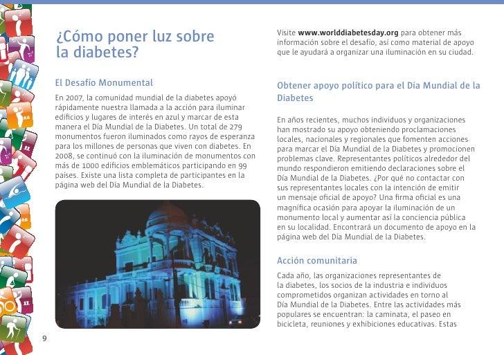 ¿Cómo poner luz sobre                                      Visite www.worlddiabetesday.org para obtener más               ...