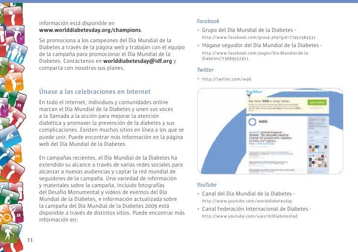 información está disponible en                                 Facebook      www.worlddiabetesday.org/champions.          ...