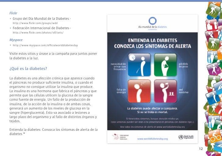 Flickr • Grupo del Día Mundial de la Diabetes -   http://www.flickr.com/groups/wdd • Federación Internacional de Diabetes ...
