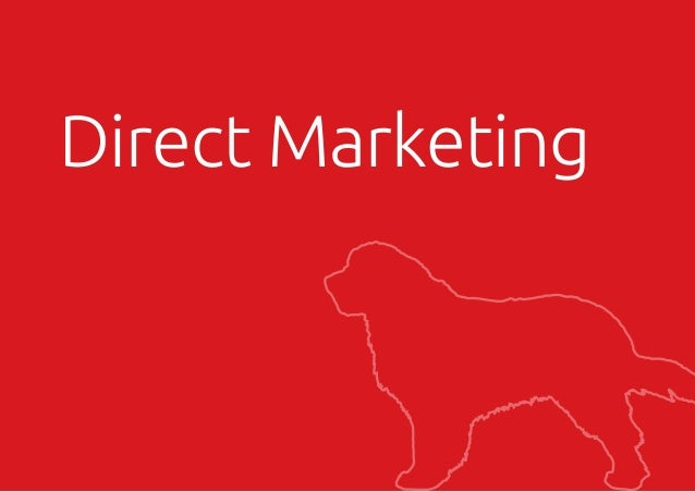 tel +44 (0)1273 278766 email ruff@wilddogdesign.co.uk wilddogdesign.co.uk Direct Marketing