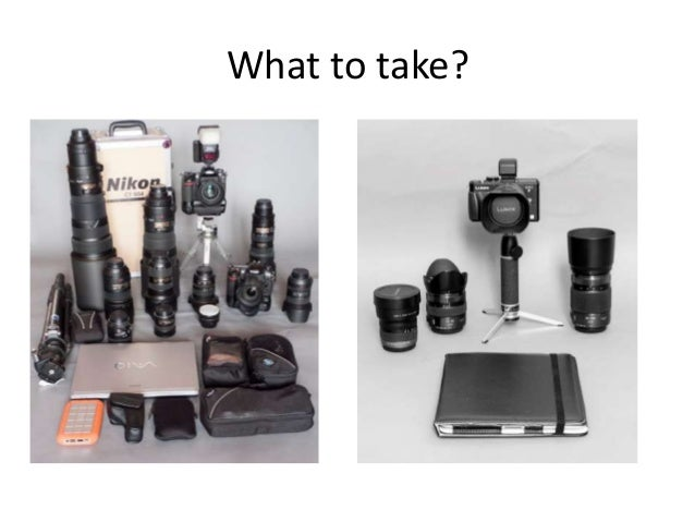What to take?
