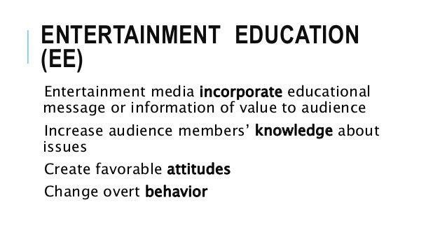 Entertainment Education