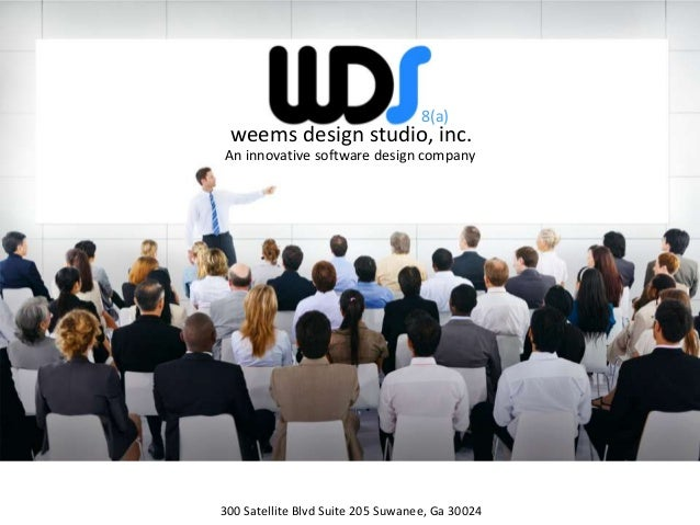 weems design studio, inc.An innovative software design company300 Satellite Blvd Suite 205 Suwanee, Ga 300248(a)