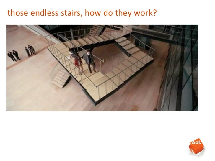 those endless stairs, how do they work?