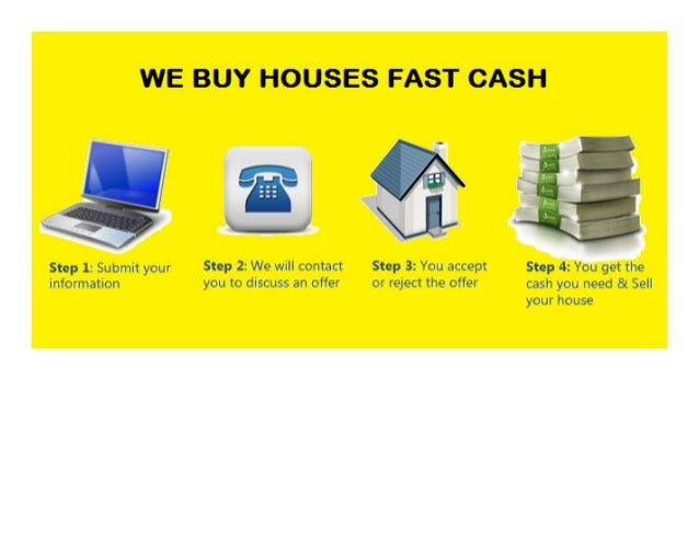 We Buy Houses Fast Cash Infographic
