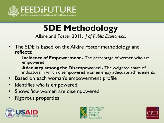 The Women's Empowerment in Agricultre Index (English)