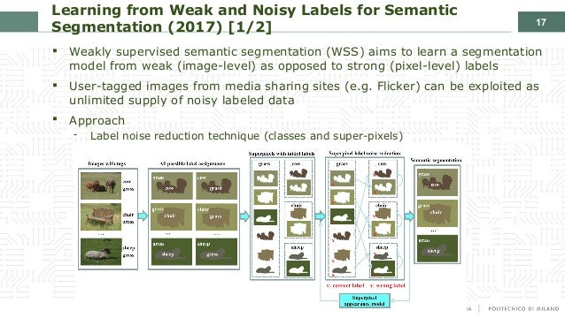 Applying Deep Learning with Weak and Noisy labels