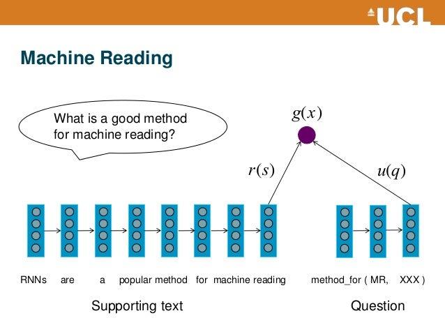 machine reading
