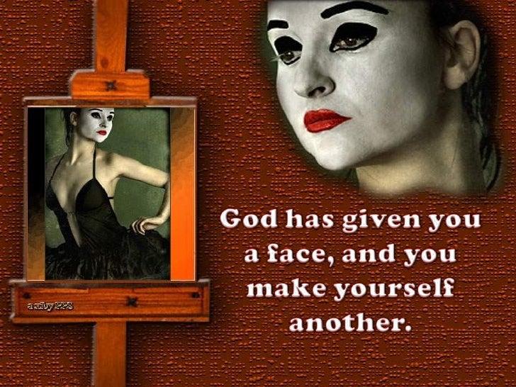 We all wear masks Slide 2