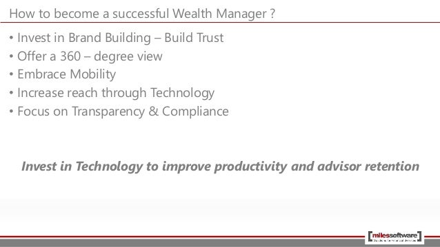 Introduction to Wealth Management Industry by Miles Software