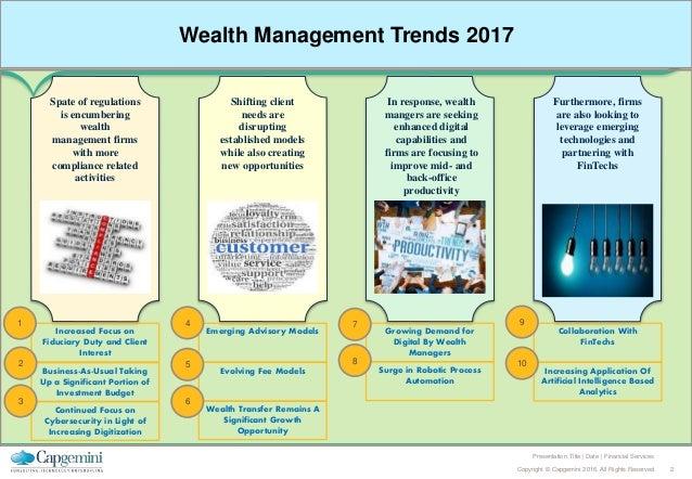 Top Ten Trends in Wealth Management 2017 Slide 2