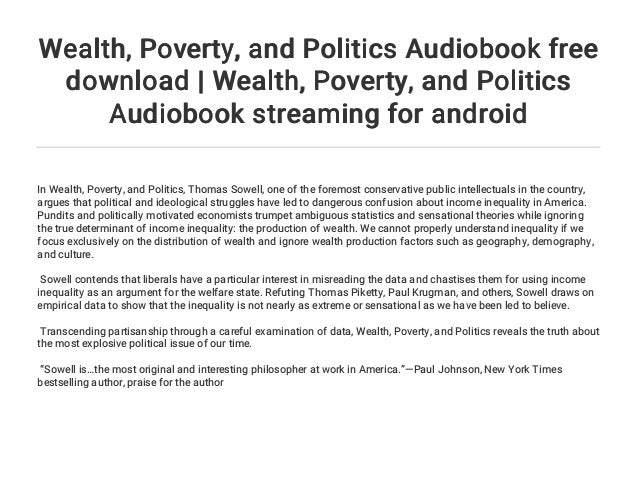 Wealth, Poverty, And Politics PDF Free Download