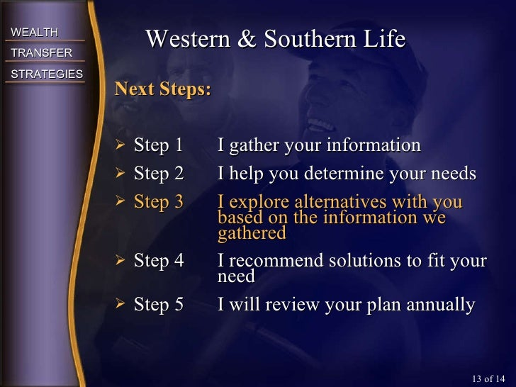 <ul><li>Next Steps: </li></ul><ul><li>Step 1  I gather your information </li></ul><ul><li>Step 2  I help you determine you...