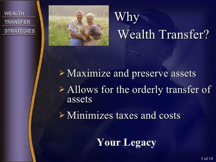 <ul><li>Maximize and preserve assets </li></ul><ul><li>Allows for the orderly transfer of assets </li></ul><ul><li>Minimiz...