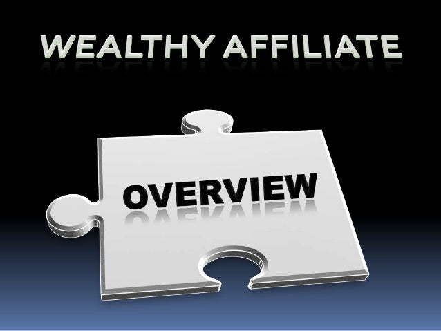 Wealthy Affiliate is an online community membership site and the program is dedicated towards teaching individuals how to ...