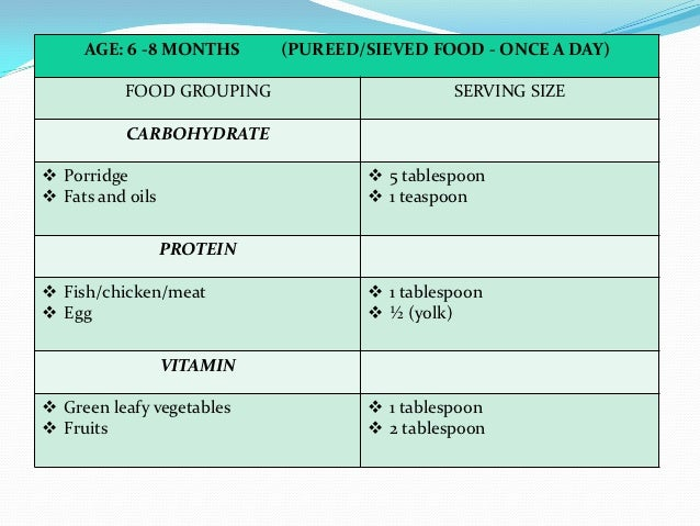 Weaning Diet Stock Photos and Images
