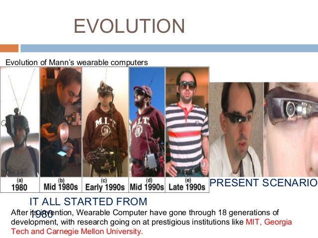 the features of the wearable computer