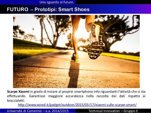 INDICE Uno sguardo al futuro. Università di Camerino – a.a. 2014/2015 Technical Innovation – Gruppo E FUTURO – Prototipi: ...