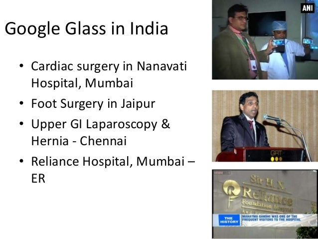 Wearable Devices In Health Using Google Glass Apple