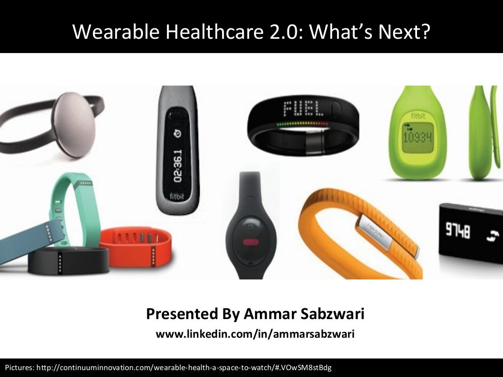 Wearable Healthcare 2.0